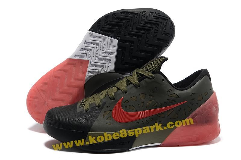 low priced 6dd34 f0be3 Nike Zoom KD 6 Black Army Green Red Shoes New arrival. This is the best  sale kd 6 shoes on our store. Buy now!