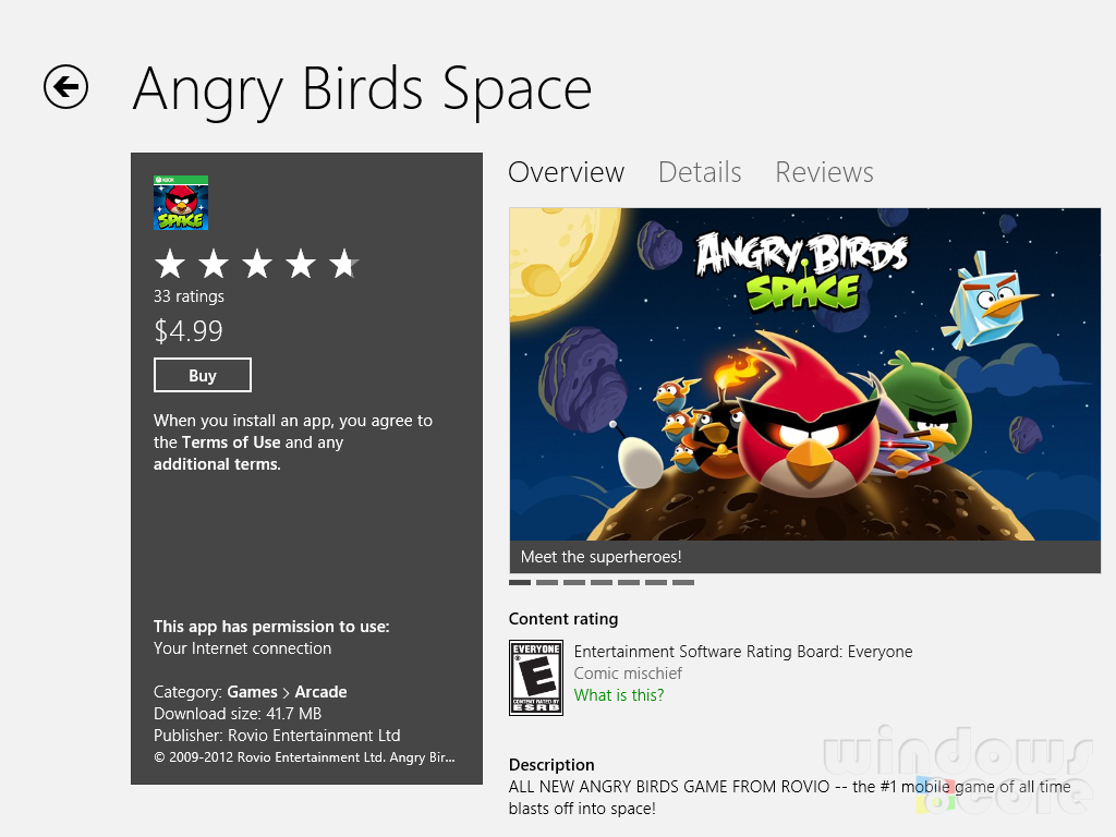 Angry Birds slings their way to Windows 8 to take on the