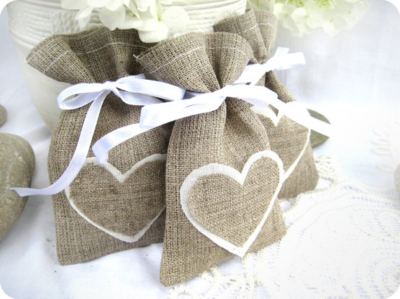 craft ideas for burlap set of 150 wedding favor bags rustic linen 3820