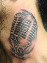 microphone tattoos