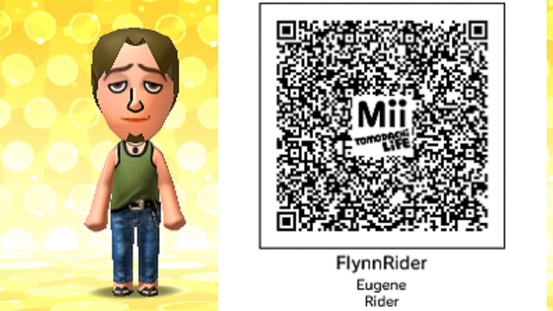 Tons Of Tomodachi Life Qr Codes Collection 1 Life Code Coding Life