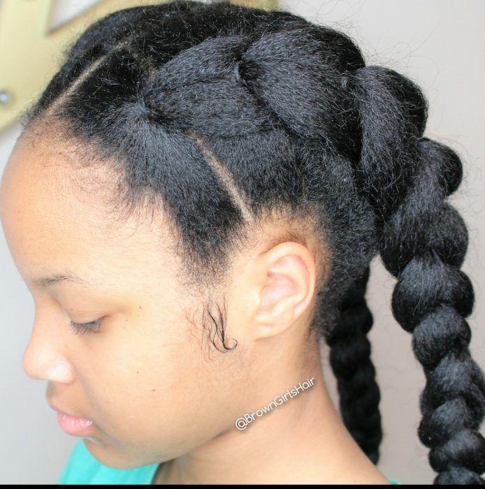 pin natural black hair styles