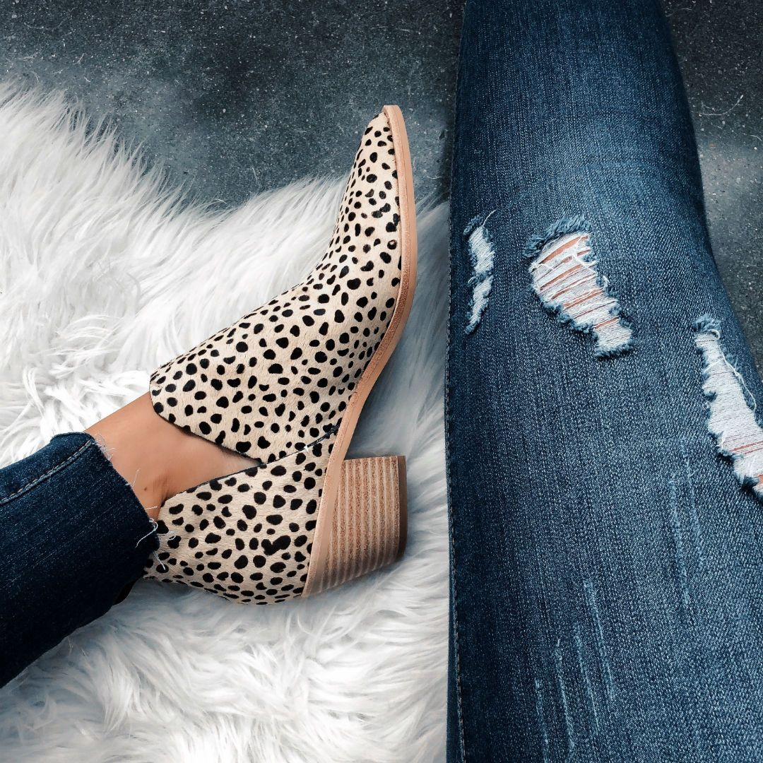 Favorite Leopard Shoes For Fall - The House of Sequins #booties