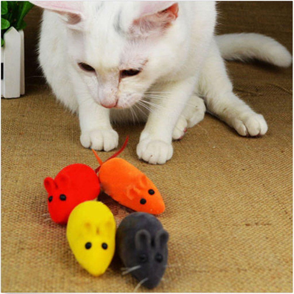 Cute Little False Mouse Squeak Noise Sound Rat Playing Toy