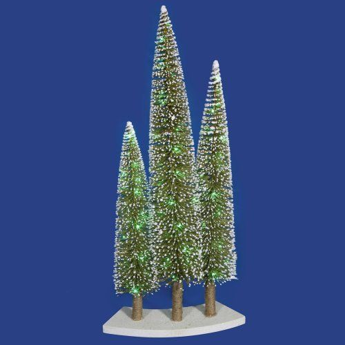 3-in-1 Christmas Tree Set by Gordon Companies, Inc. $126.00. This product may be prohibited inbound shipment to your destination.. Shipping Weight: 4.00 lbs. Please refer to SKU# ATR25782530 when you inquire.. Brand Name: Gordon Companies, Inc Mfg#: 30736915. Picture may wrongfully represent. Please read title and description thoroughly.. 3-in-1 Christmas tree set/glittery/flocked/comes with 72 mini lights/lights are green/lights are LED/should be used inside/white lead cord/adap...