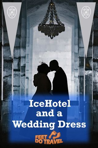 Marrying in the coldest hotel in the world, ... what's it like? We didn't just visit the Ice Hotel!