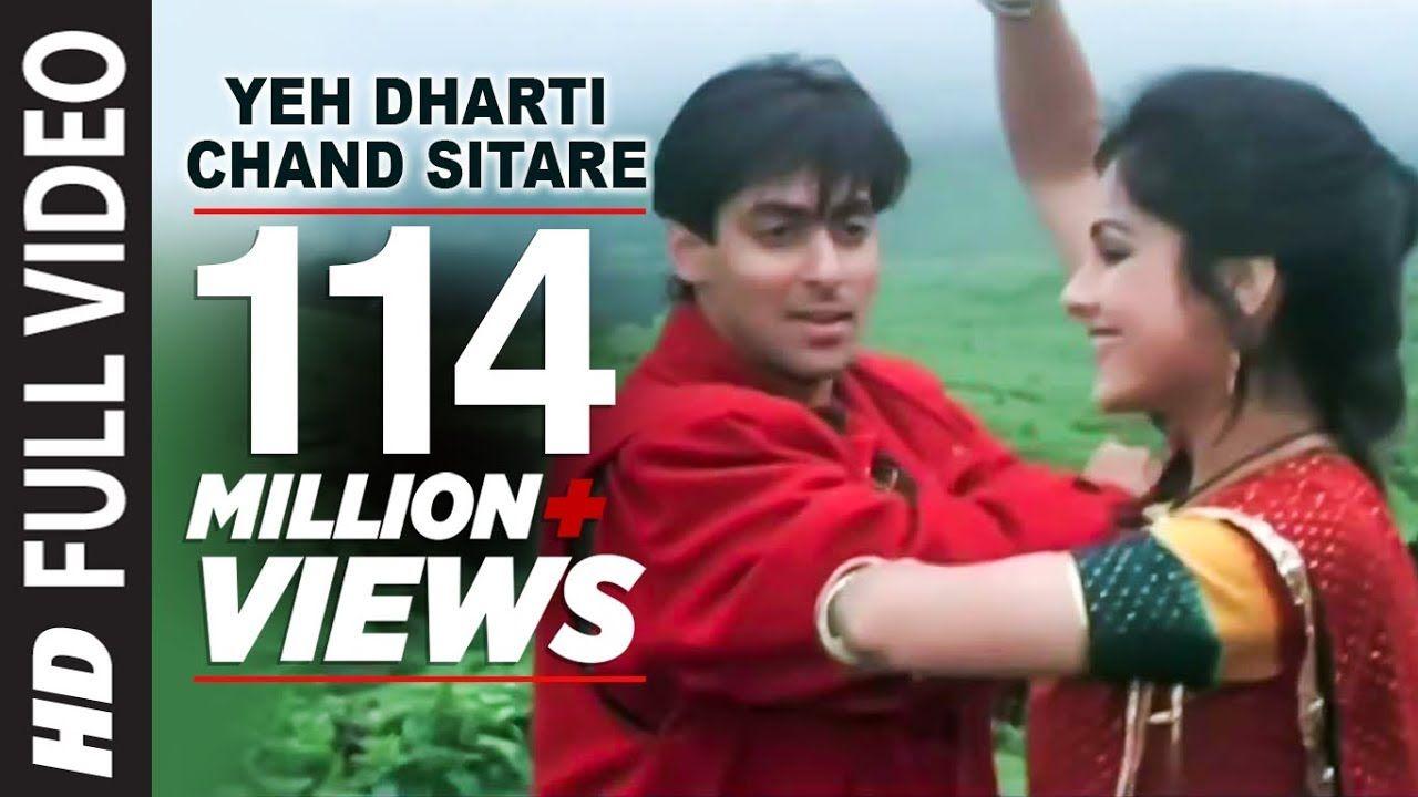 Yeh Dharti Chand Sitare Full Hd Song Kurbaan Salman Khan Ayesha Jhulka Lagu Salman Khan Youtube