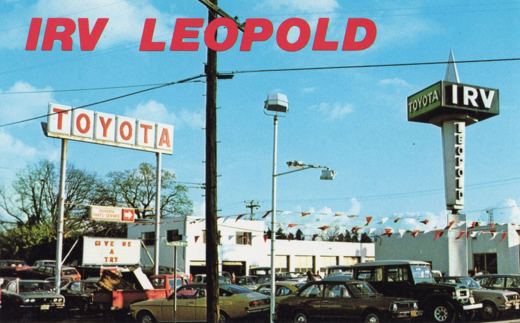 Irv Leopold Cause Irv Really Cares Toyota Dealership Car Dealership Toyota