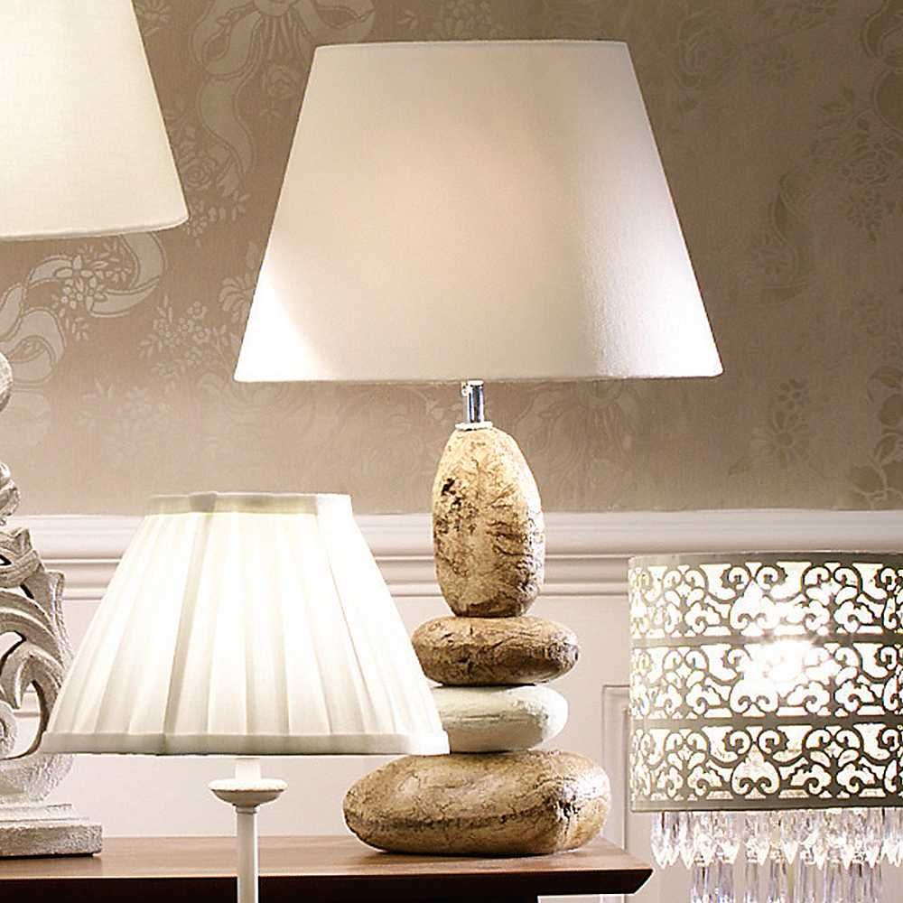 Pebble table lamp reclaimyourroom diy lamps pinterest pebble table lamp reclaimyourroom aloadofball Choice Image