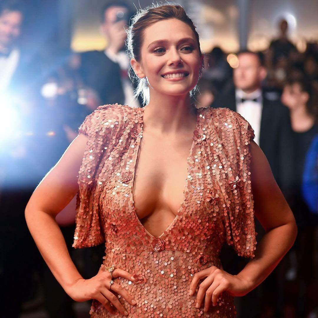 Elizabeth olsen cannes 2017 boob in 2019 elizabeth - Scarlet witch boobs ...