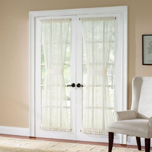 Brylanehome Batiste Semi Sheer Door Panel By Brylanehome 8 99 Provides More Privacy Than Sheers Yet Still Lets Plenty Of Light Home Panel Doors Home Decor