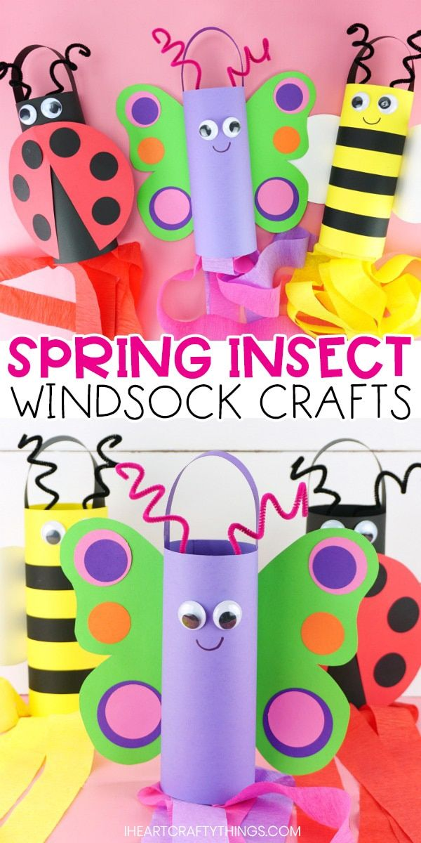 Photo of SPRING WINDSOCK CRAFTS FOR KIDS
