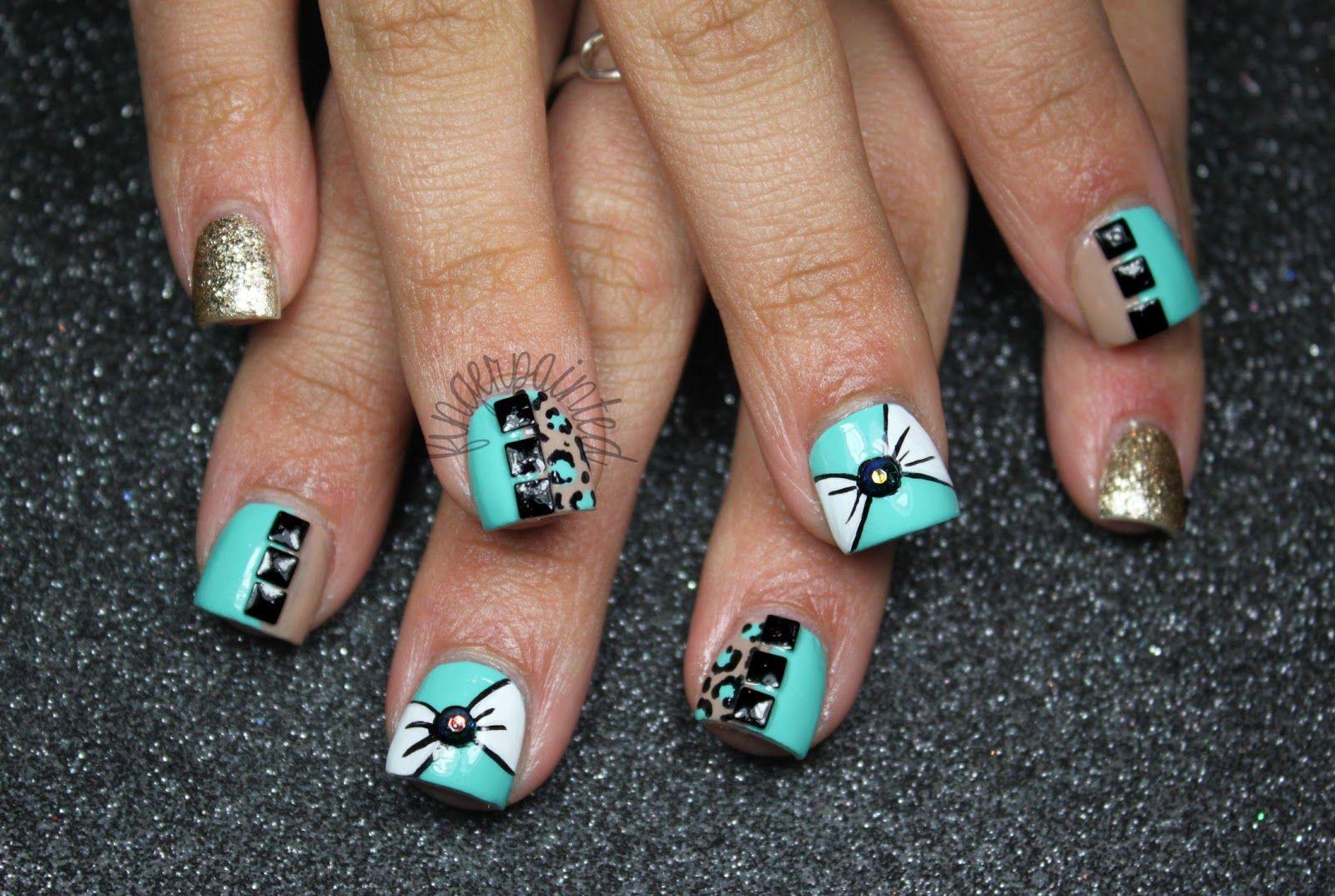 acrylic nail designs for teens stiletto | Art Design Gallery ...