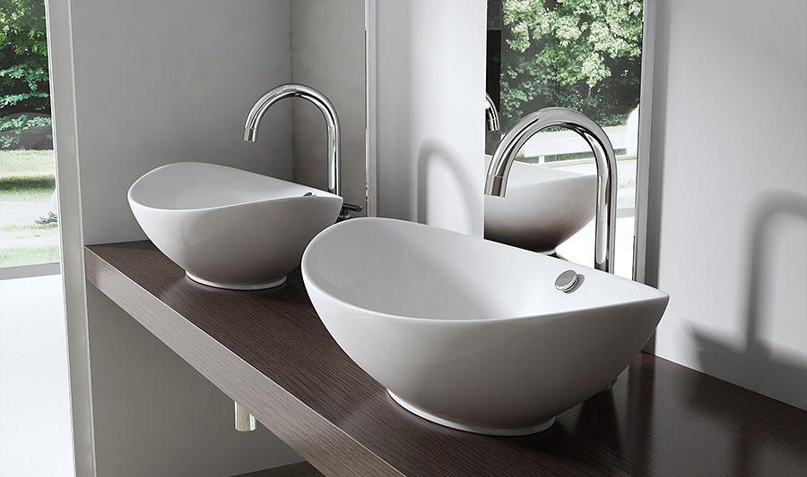 design aufsatzwaschbecken inkl nano beschichtung keramik waschschale waschbecken. Black Bedroom Furniture Sets. Home Design Ideas