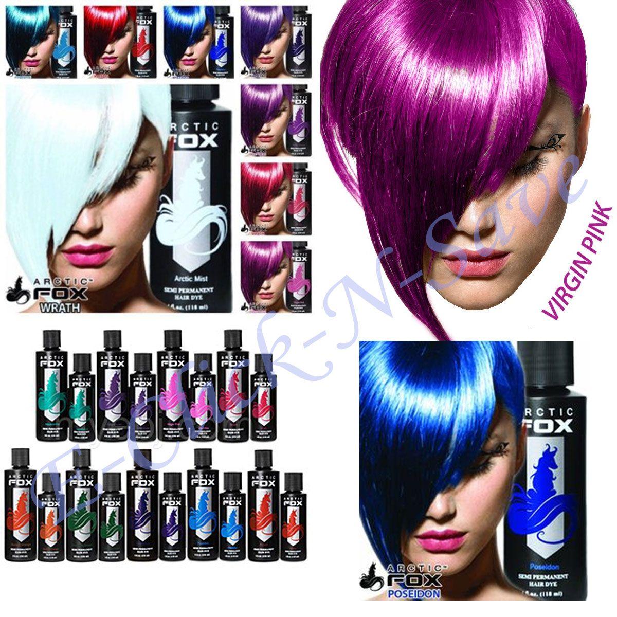 Artic Color Hair Dyeg Arctic Fox Hair Color Is Cruelty Free Semi