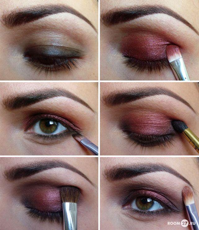 Dramatic Brown Eye Shadow Makeup Tutorial Eyes Eyeshadow Beauty