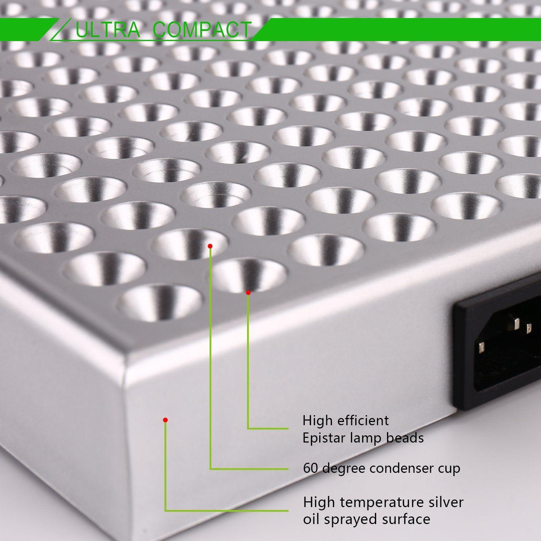 Amazon.com : High Efficient Hydroponic LED Grow Light (24W) : Patio,