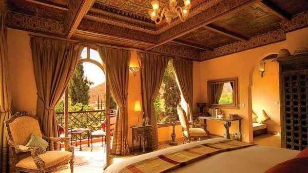 Kasbah Tamadot, Morocco.