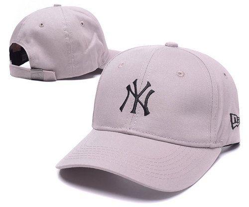 MLB New York Yankees NY Baseball Caps Gray 3b01916b6fb