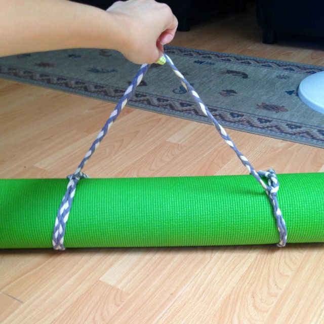 Made My Own #yoga Mat Strap! :) #DIY