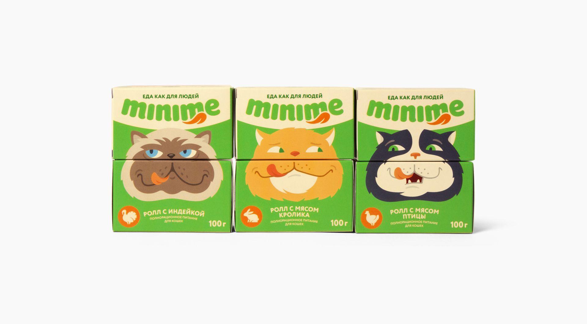 minime on Behance