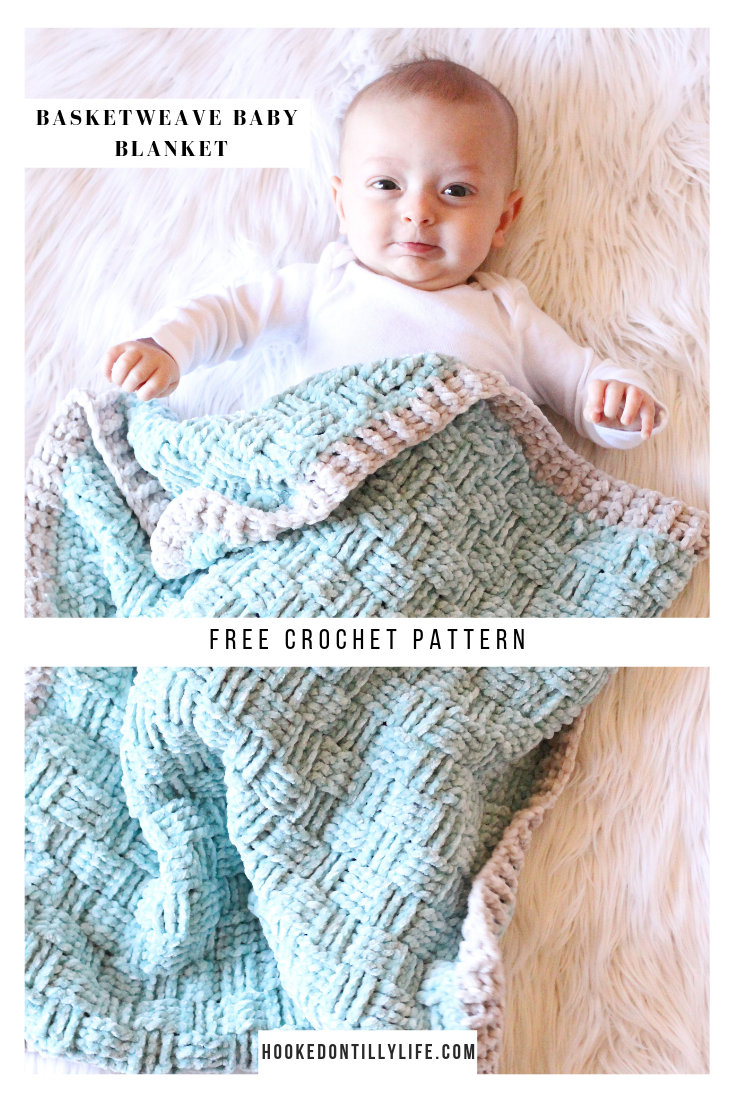 Basketweave Baby Blanket - Free Crochet Pattern — Hooked On Tilly