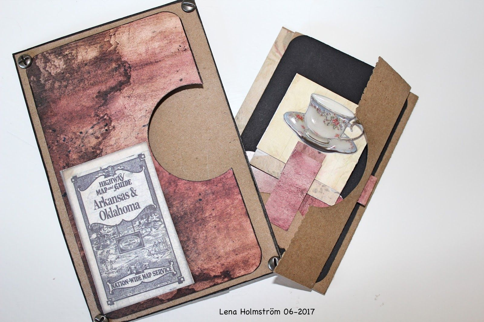 Card with pockets