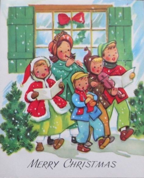 Pin von Sue G. auf Christmas Carolers | Pinterest | Malen und ...