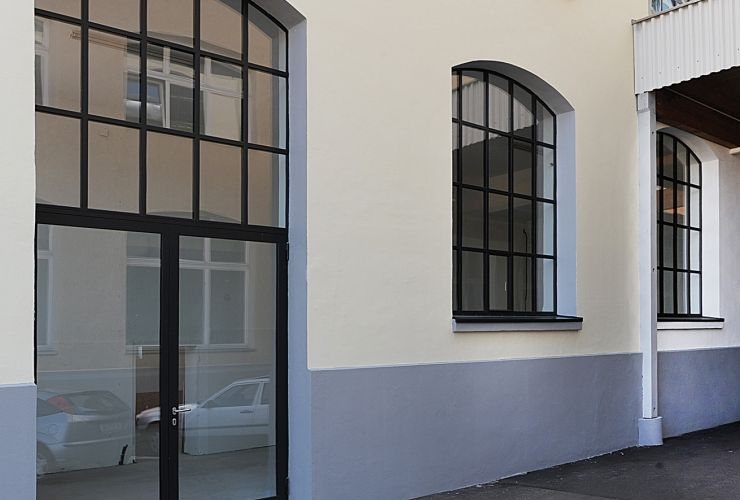 These Jansen Arte Windows have an ultra-slimline profile and a ...