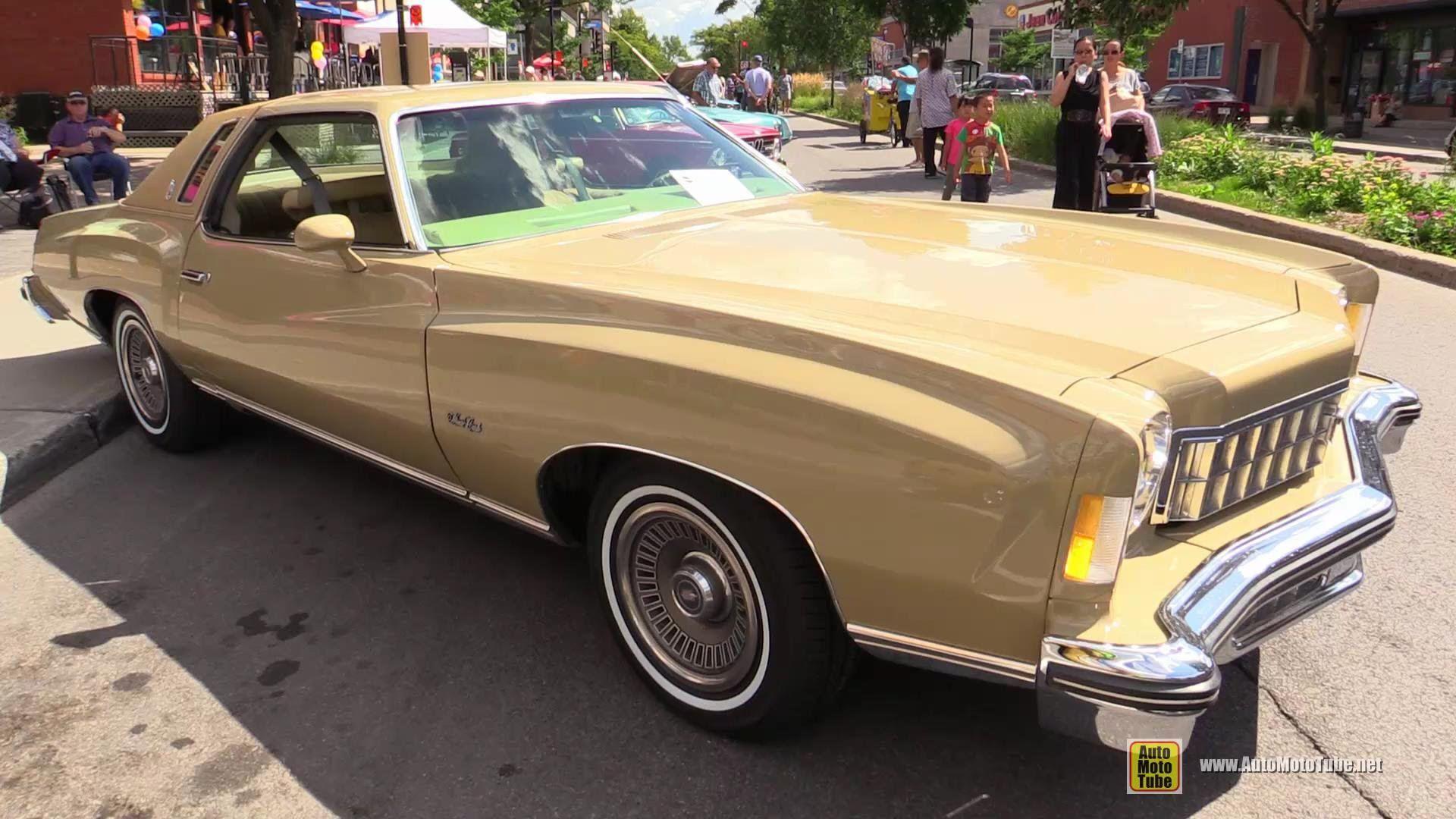 1975 Chevrolet Monte Carlo Landau Exterior Interior Walkaround