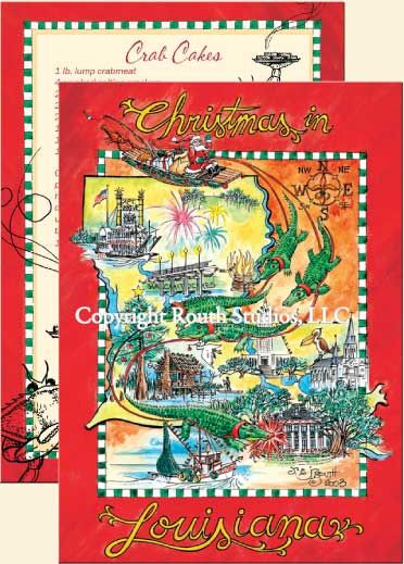 louisiana greeting cards cajun greeting cards christmas in louisiana christmas cards i get these at barnes and nobles each year and people love them