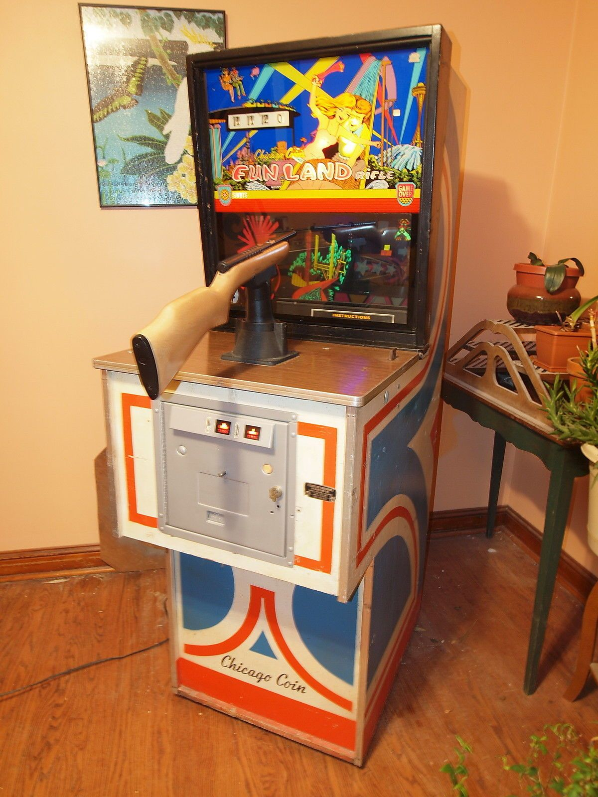 Antique Arcade Digger Claw Machine - YouTube