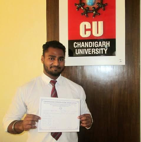 #Weight #lifting #Champion - #Chandigarh #University