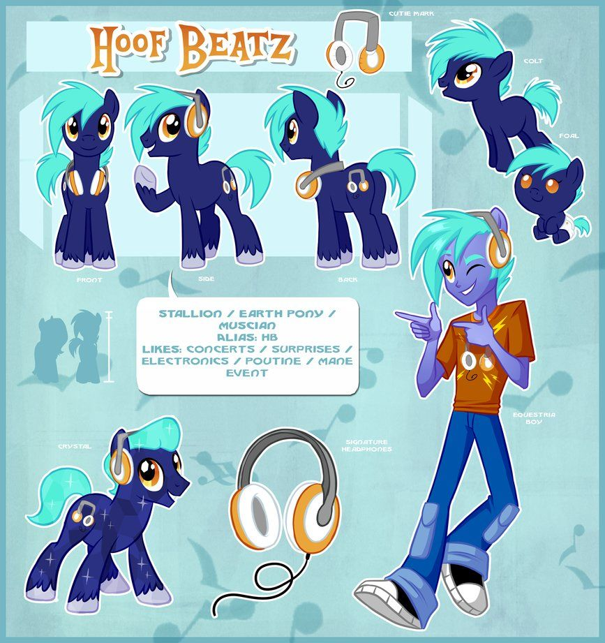 Hoof Beatz Official Reference Guide by Centchi on DeviantArt | My ...