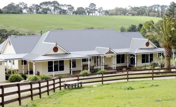 Farm Houses of Australia Country Homestead ranch style traditional veranda custom design. Like ...