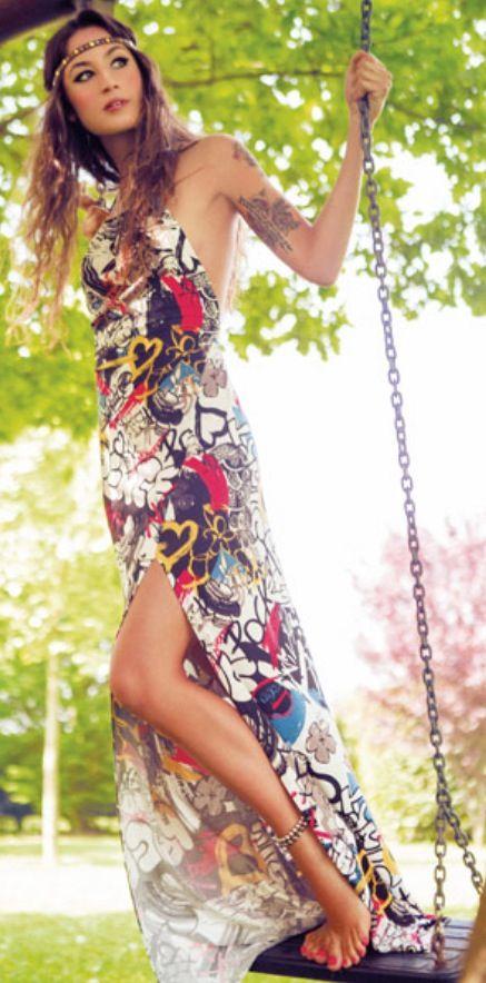 Floral Skirt Beauty #newskirt #FloralSkirt #sasssjane #Floral #Skirt <3  www.2dayslook.com