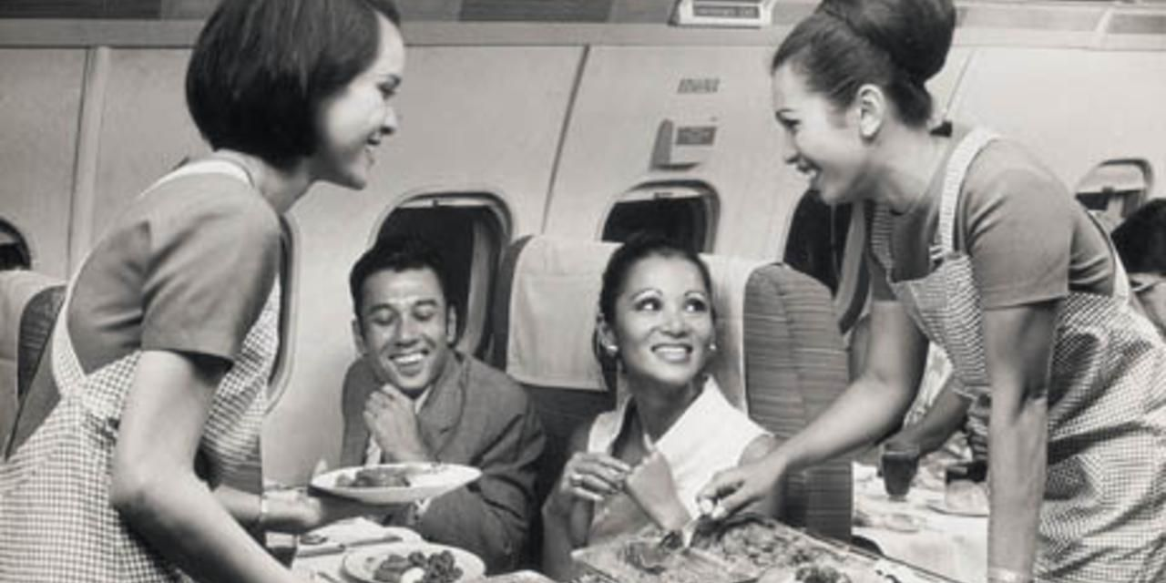 The story of inflight food