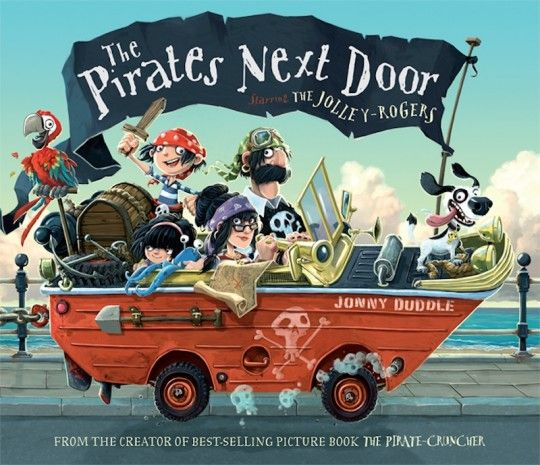 Cover of The Pirates Next Door