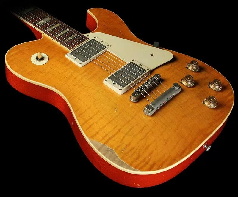 cool tele body with a les paul carve top guitars music in 2019 guitar telecaster. Black Bedroom Furniture Sets. Home Design Ideas