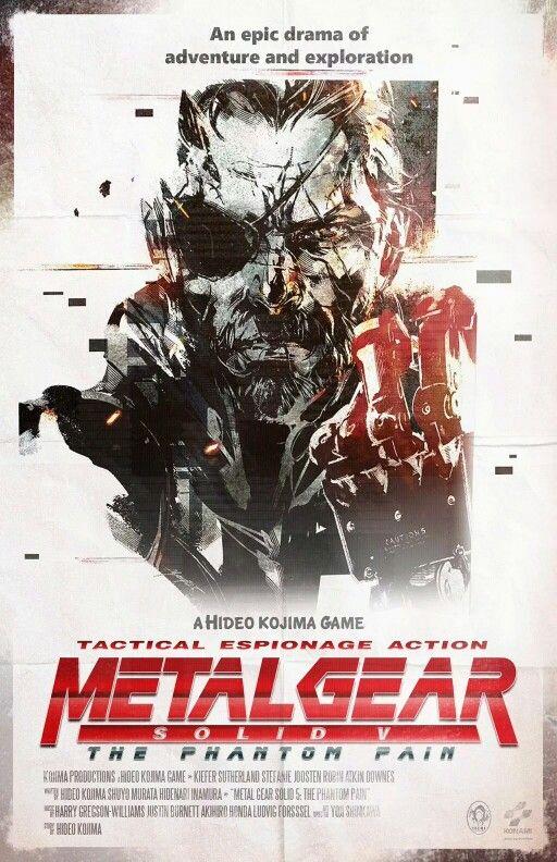 Epingle Sur Metal Gear Universe