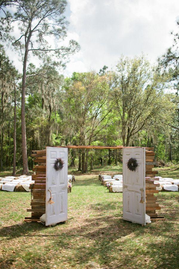 Photo of portes d'une cérémonie en plein air #mariage