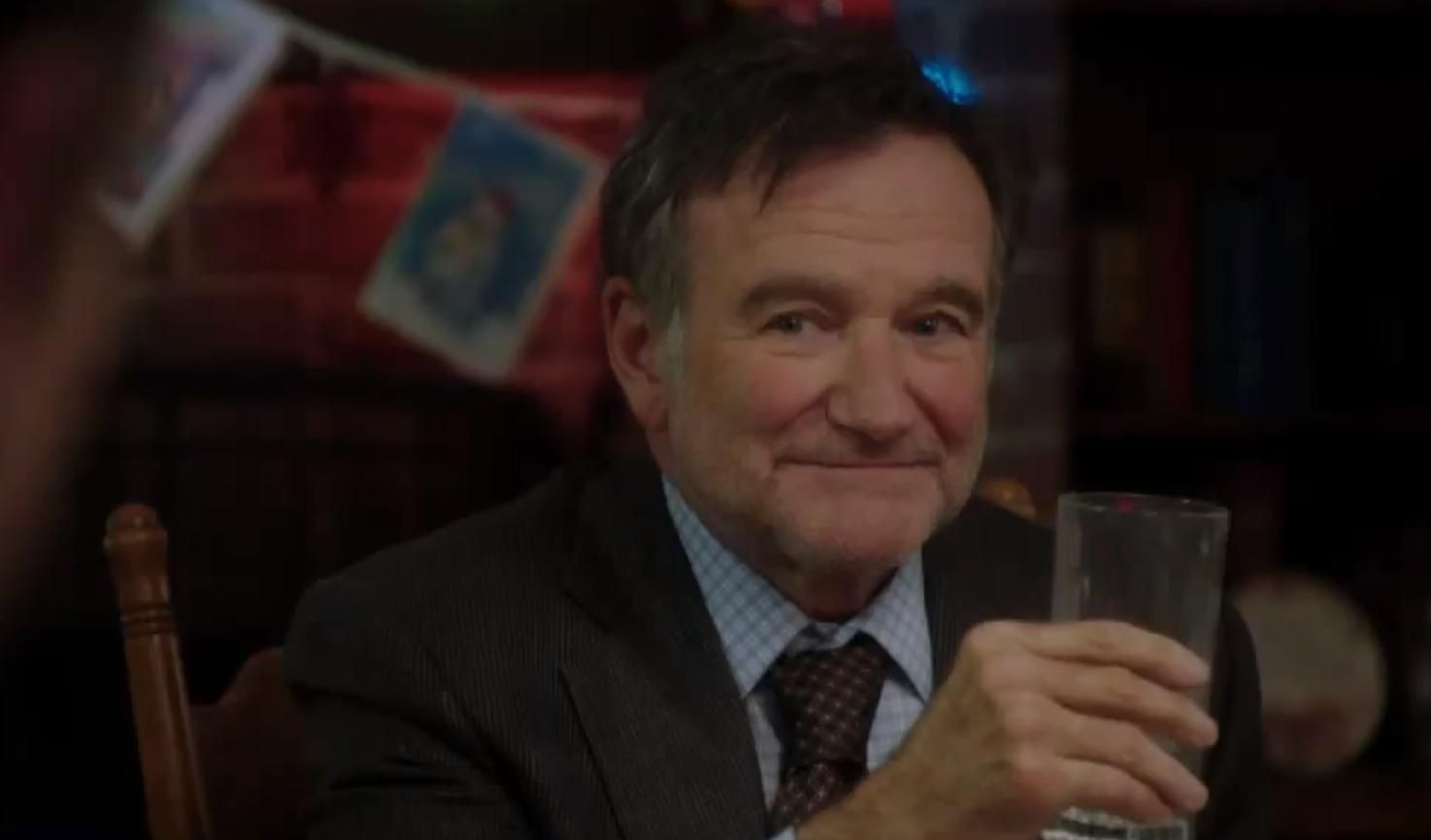 Watch Robin Williams Scrooge It Up In The Trailer For A Merry Friggin Christmas Robin Williams Robin Williams