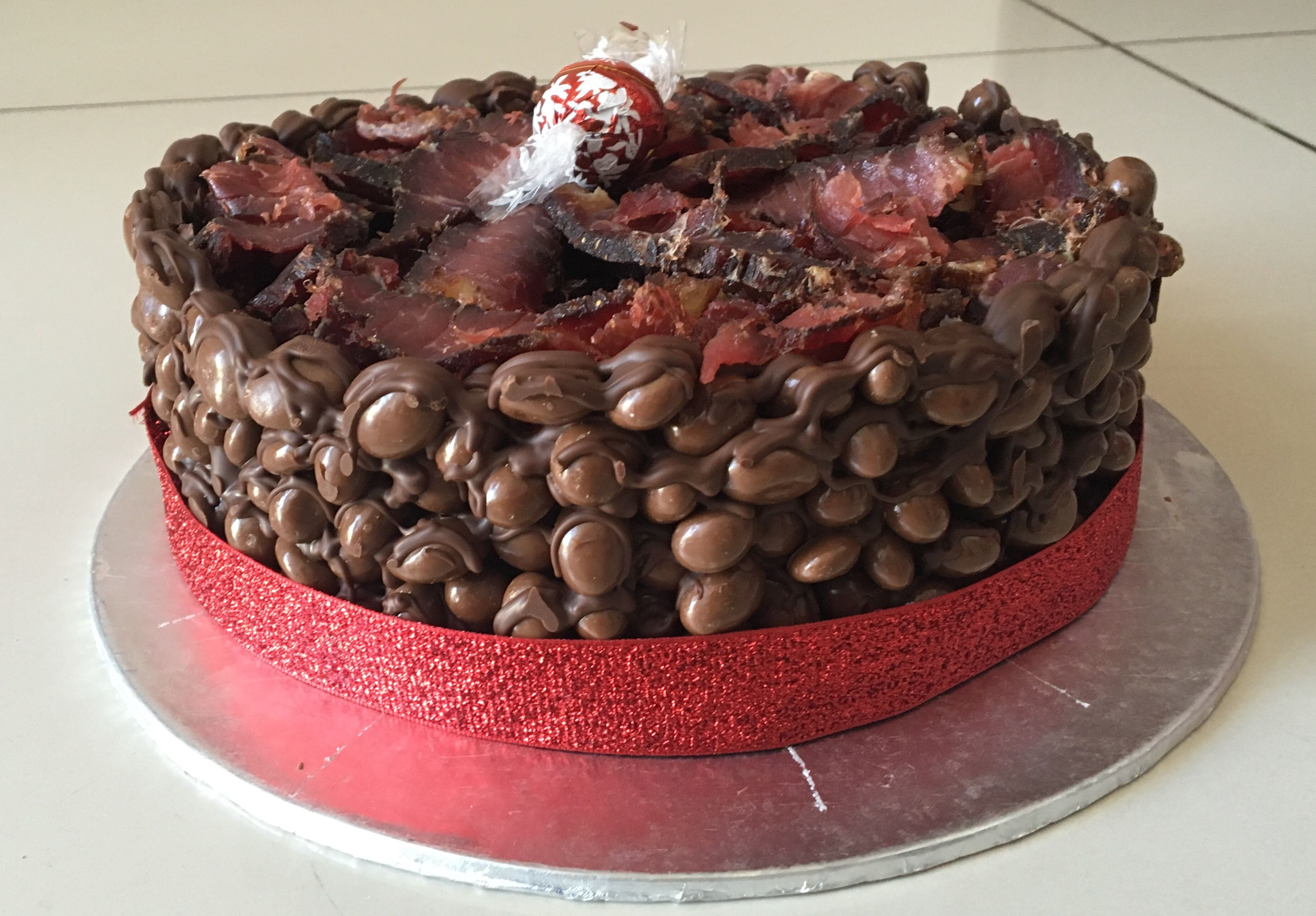 Chocolate And Biltong Quot Cake Quot Leonie S Cakes In 2019