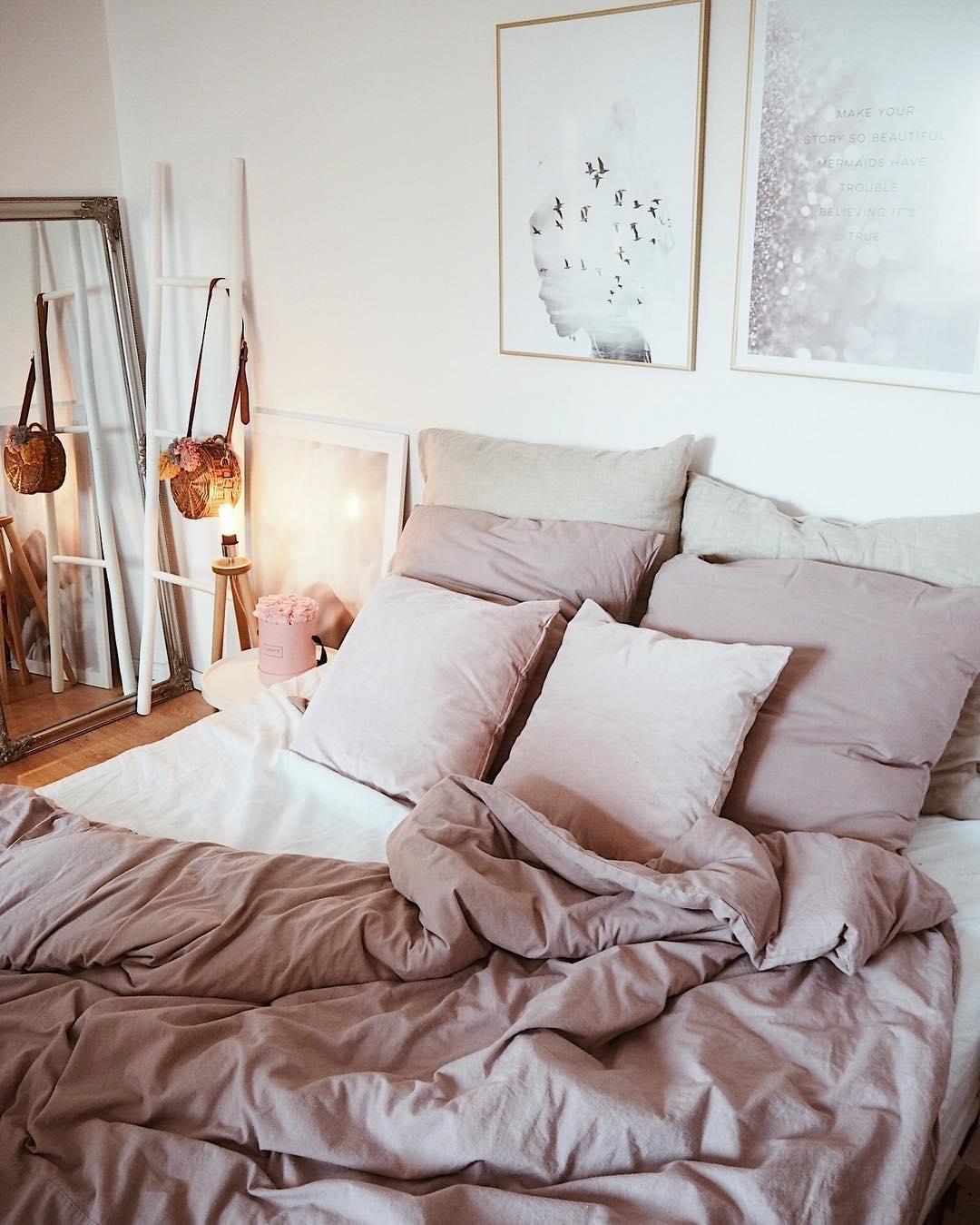 Ein Traum In Rosa Wunderschone Wohnaccessoires Kombiniert Mit Der Wunderbar Sanften Bettwasche Harper Aus Flanell S Bettwasche Schlafzimmer Wohnen Bettwasche