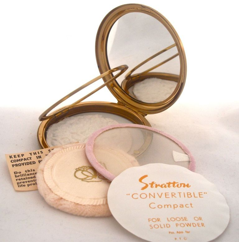 Compacts stratton loose powder Powder Compacts