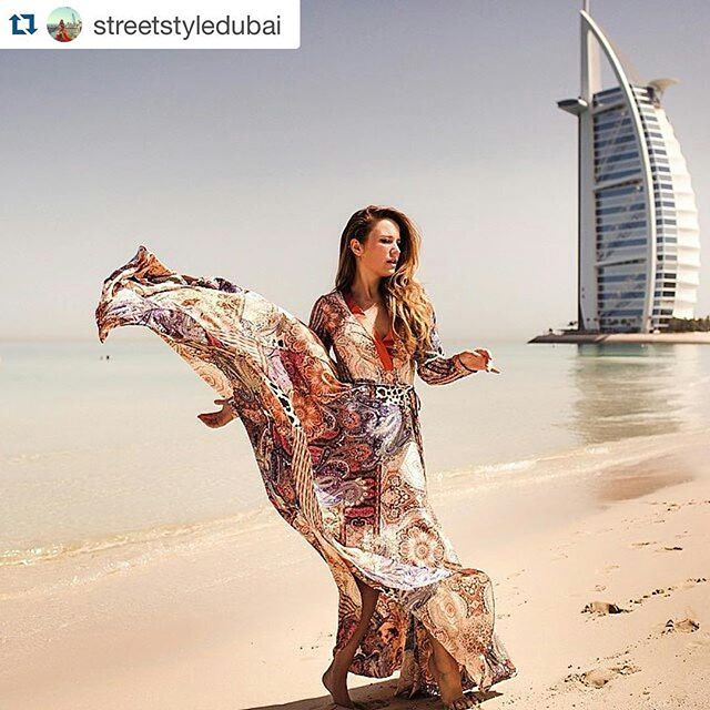 Dubai is shifting to the new Gypset (#gypsy & #jetset) trend #gypsetdubai #Repost @streetstyledubai with @repostapp.  The spectacular style of a woman defines her approach to a perfect view with flawless appearance.. We love the great designs of @d_angelann on @annetch #streetstyledubai#view#dubai#mydubai#dubaistyle#moscow#milan#paris#uae
