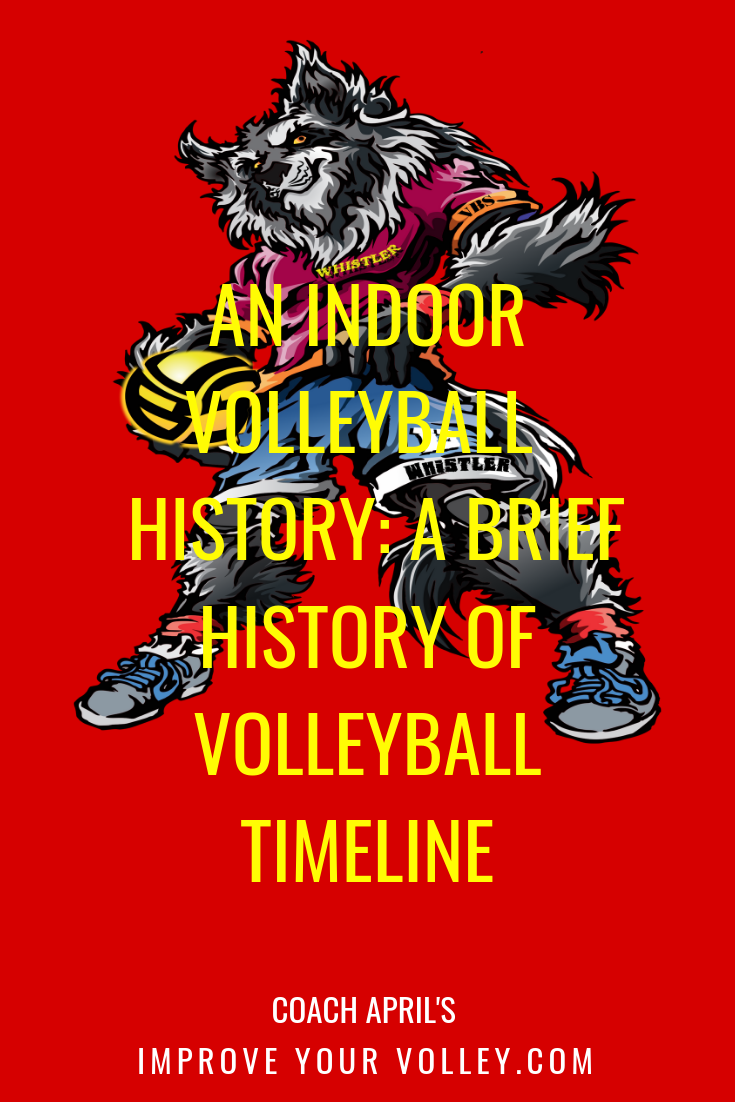 An Indoor Volleyball History A Brief History Of Volleyball Timeline Volleyball History Indoor Volleyball Volleyball