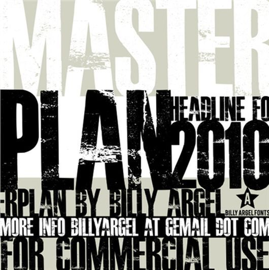 MasterPlan Free Font is useful for any sort of design would go great for graphic and web designers to come up with all new cool and creative designs.