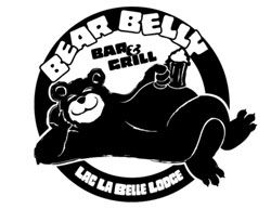 Lac La Belle Lodge Bear Belly Bar and Grill: Reception after party here and people can rent out the cabins to stay in!