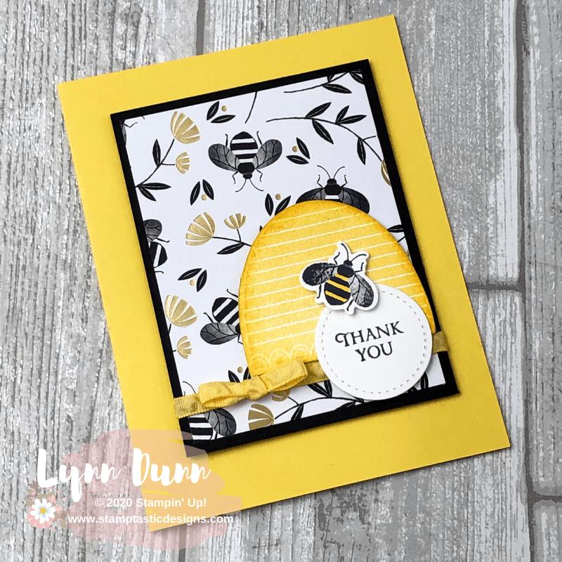 2 Card Designing Tips - Stampin Up Honey Bee | Lynn Dunn